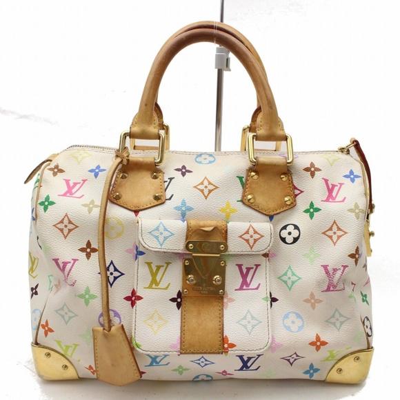 ef73671ae717 Louis Vuitton Handbags - Louis Vuitton Speedy 30 Blanc M92643 Hand Bag  1111. emodaoutlet